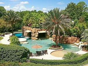 Celebrity homes in central florida dudley elite team Isleworth swimming pool prices