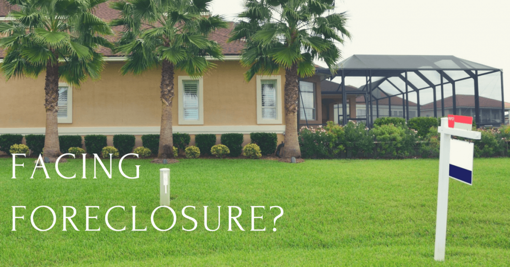 Home facing foreclosure in Orlando, Florida